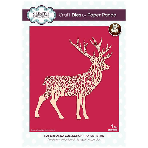 Creative Expressions Paper Panda Stanzschablone Forest Stag