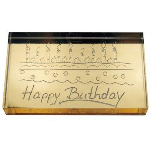 Acryl Stempel Happy Birthday
