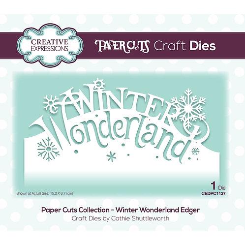 Creative Expressions Paper Cuts Stanzschablone Winter Wonderland