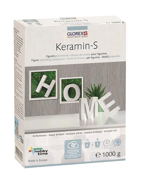 Figurengiessmasse Keramin-S, brillantweiss, 1000g