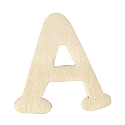 Holz Buchstaben, 4 cm