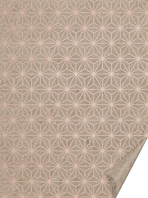 """Naturkarton """"Starlight"""" A4 rosegoldfarben glänzend"""