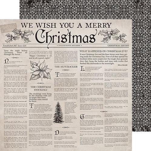 Kaisercraft paper 30,5x30,5cm Christmas Tale