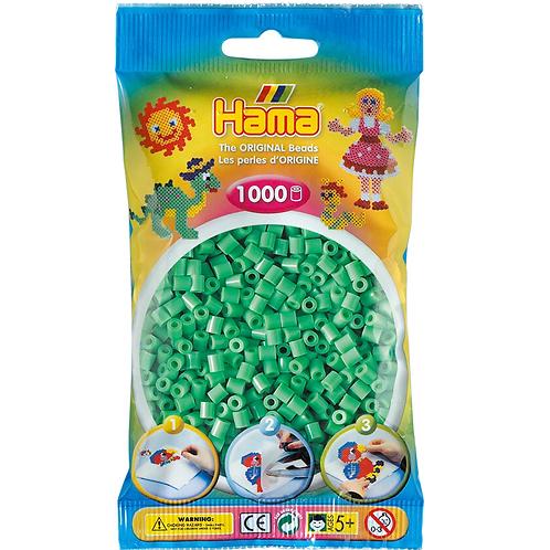 Midi Perlen 5mm in Beutel, 1000 Perlen hellgrün