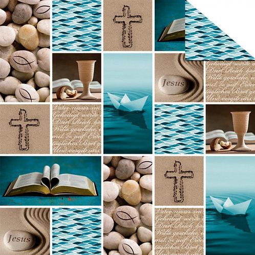 """Fotokarton """"Prayer"""" DIN A4"""