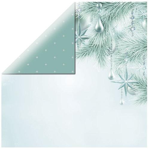 Scrapbookingpapier Twinkle Star 30,5x30,5cm, 220g/m2, mit Folie