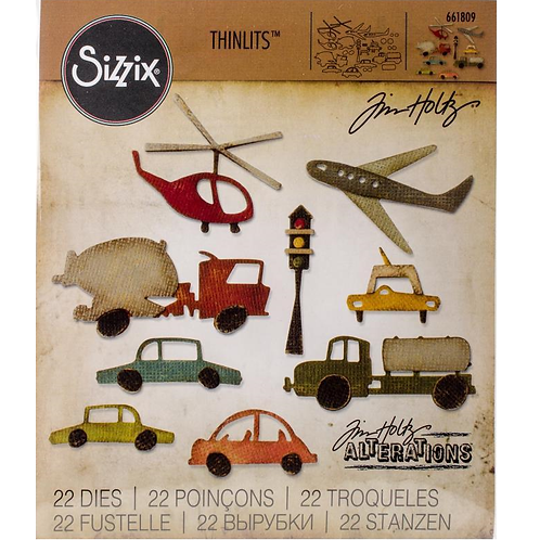 Sizzix Thinlits Fahrzeuge