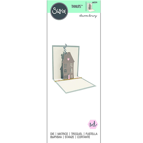 Sizzix Thinlits Pop up House