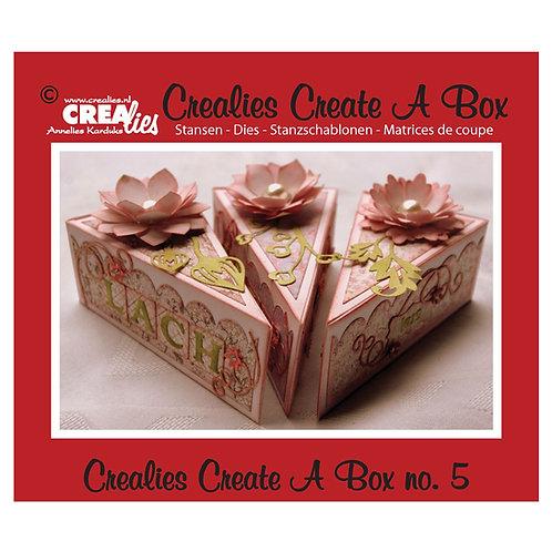 Crealies  Create A Box Stanzschablone no.5 Torten Stück