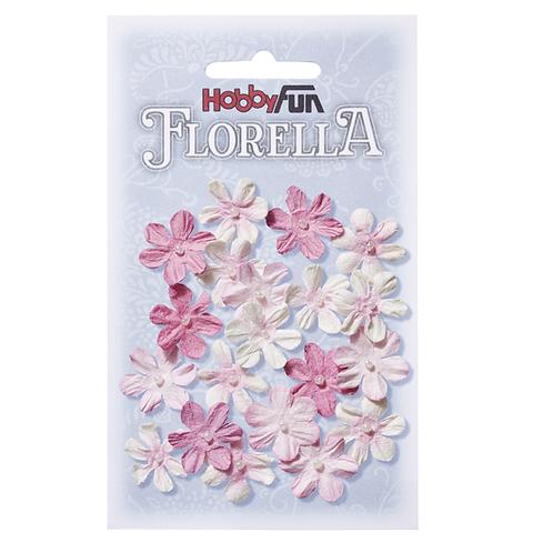 FLORELLA-Blüten Maulbeerpapier 2cm, 20St.