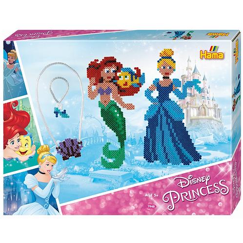 Geschenkpackung Disney Prinzessinnen, 4000 Midi Perlen 5mm und Zubehör