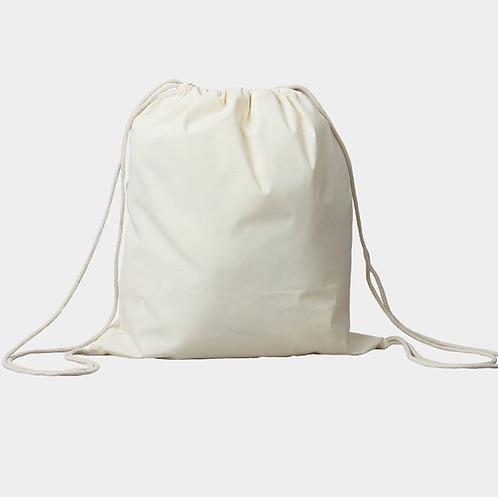 Big Pack, Turnbeutel natur, 36 x 41 cm, 5 Stück