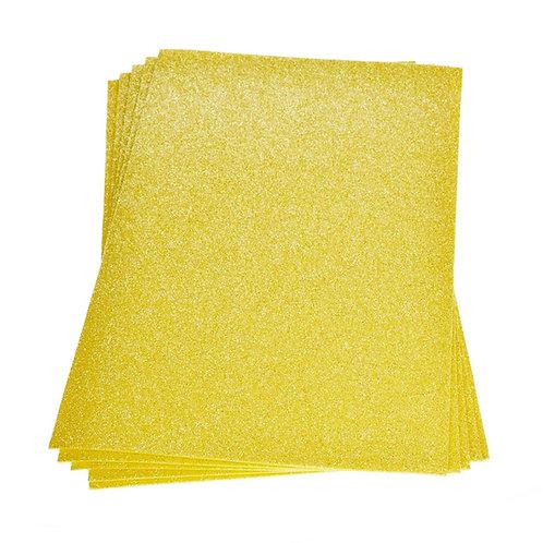 Moosgummiplatte Glitter, 200 x 300 x 2 mm