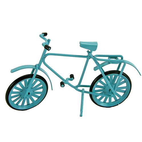 Fahrrad 9,5 x 6cm hellblau