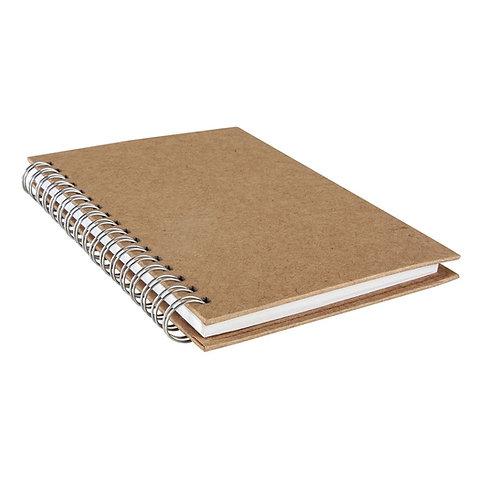 Notizbuch, Hochformat DIN A6, 60 Blatt, 70 g/m2