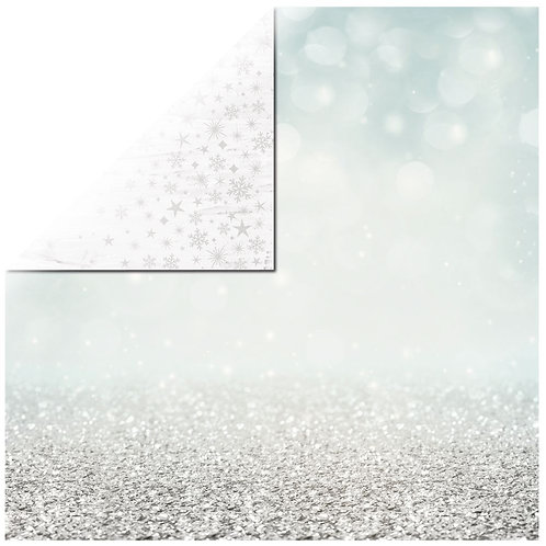 Scrapbookingpapier Shimmering 30,5x30,5cm, 220g/m2, mit Folie