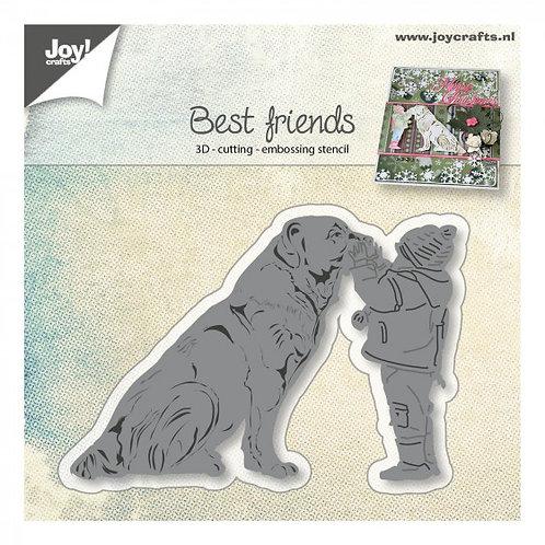 Joy Stanzschablone Beste Freunde 3D