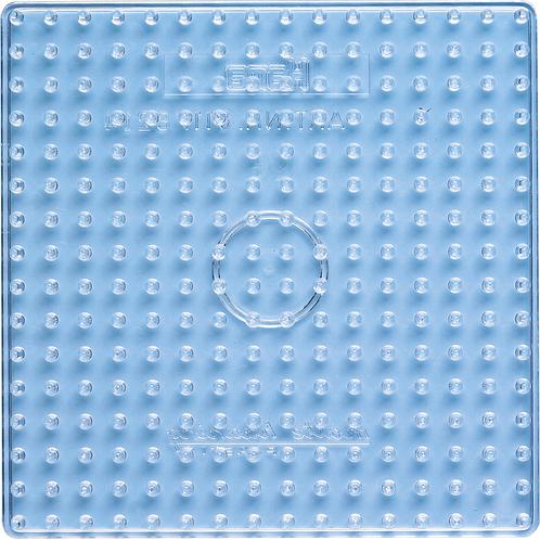Maxi Stiftplatte transparent - Grosses Quadrat  (256 Stifte) 16x16cm