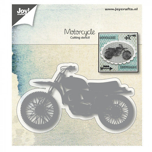 Joy Stanzschablone Motorrad