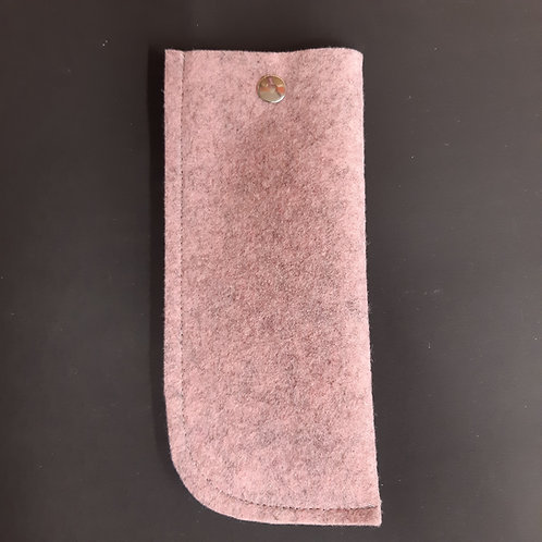 Brillenetui Filz, 9x18cm, 3mm dick
