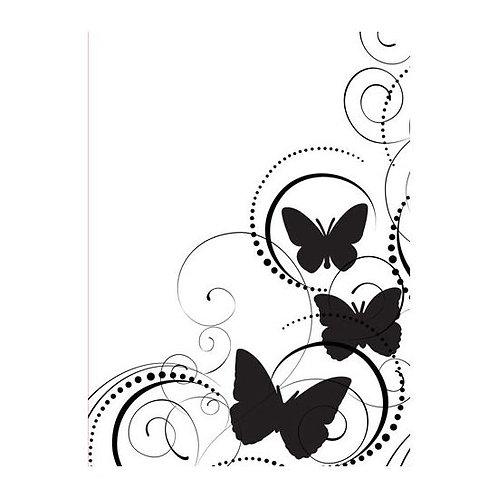 Darice Prägeschablone Schmetterling 10.8x14.6cm