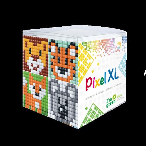 Pixel XL Würfel Wildtiere - vier Sujets