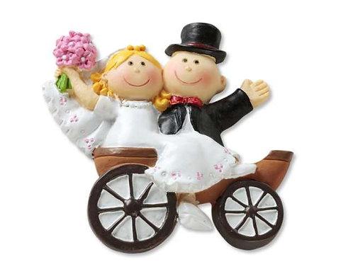 Hochzeitskutsche 5.5cm 2D