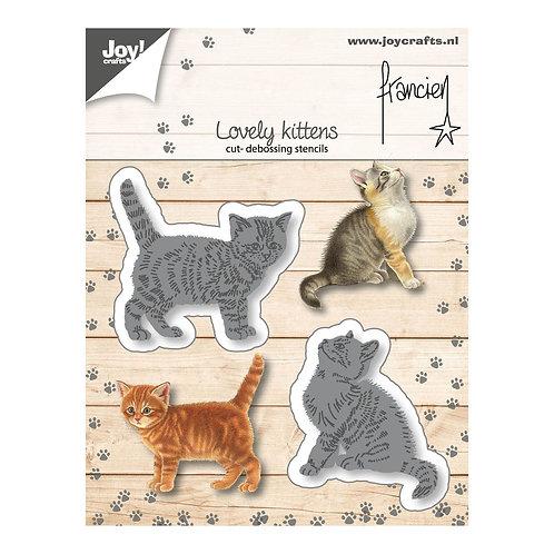 Joy!Crafts  Stanzschablone zwei Kätzchen