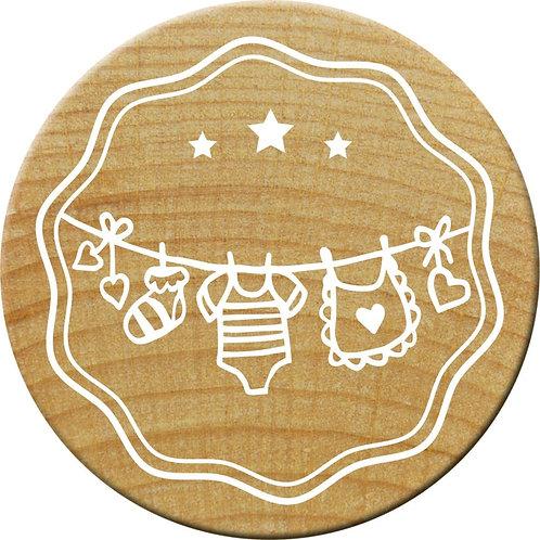 Woodies Stempel, Wäscheleine, ø 30 mm