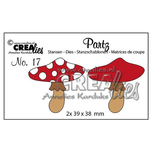 Crealies Stanzschablone No.17 Pilz A