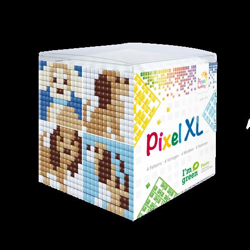 Pixel XL Würfel Hunde - vier Sujets