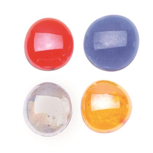 Glas Nuggets ca. 200gr 20mm