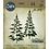 Thumbnail: Sizzix Thinlits Festliche Bäume