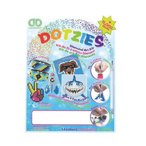 DD DOTZIES Diamond Art Kit blau
