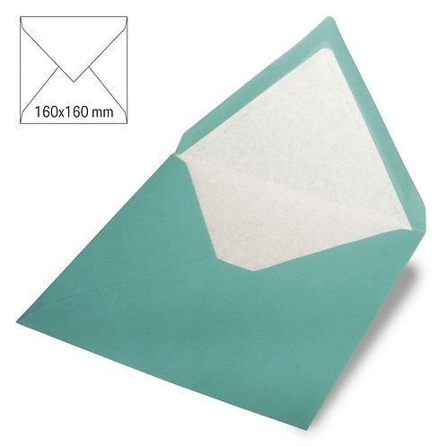 Kuvert quadratisch, uni, FSC Mix Credit 160x160mm, 90g/m2