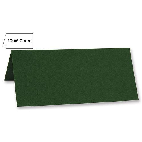 Tischkarte doppelt, uni, FSC Mix Credit 100x90mm, 220g/m2