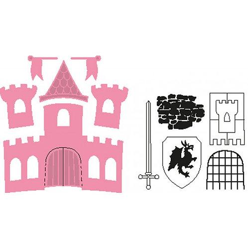 Marianne Design Collectables  Stanzschablone Schloss