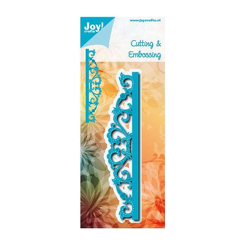 Joy!Crafts Cut- embosstencil Noor Edge with swirls