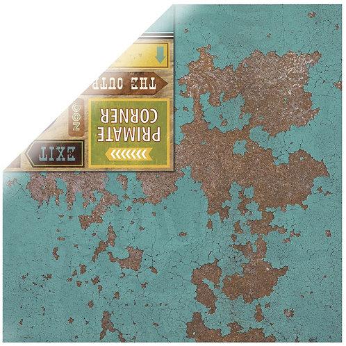 Scrapbookingpapier Safari Outback 30,5x30,5cm, 190g/m2