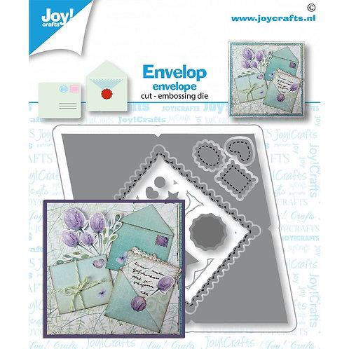 Joy!Crafts   Stanzschablone Umschlag