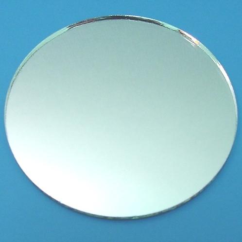 Glasspiegel rund