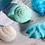 Thumbnail: Seifenflocken zum Kneten weiss