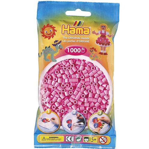Midi Perlen 5mm in Beutel, 1000 Perlen pastellrosa
