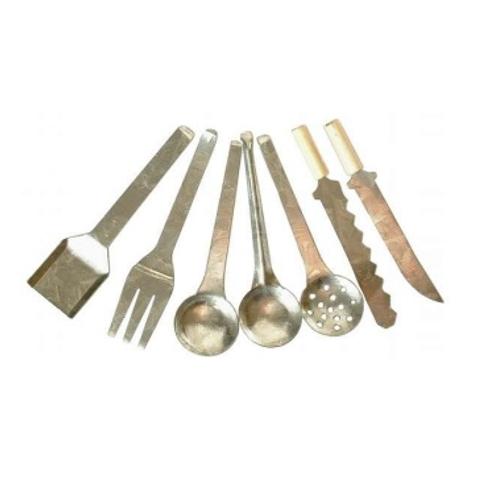 Küchen Utensilien Metall 7tlg, 5cm