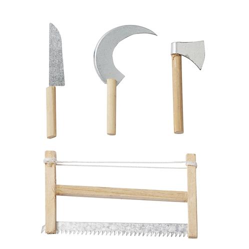 Werkzeug-Set a 4 St. 5 - 8 cm