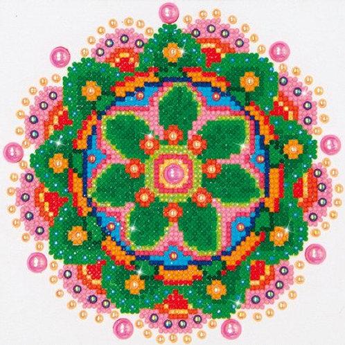 DIAMOND DOTZ Flower Mandala 20,3x25,4cm