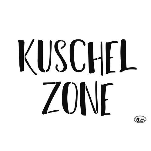 Universal Schablone A4 Kuschelzone