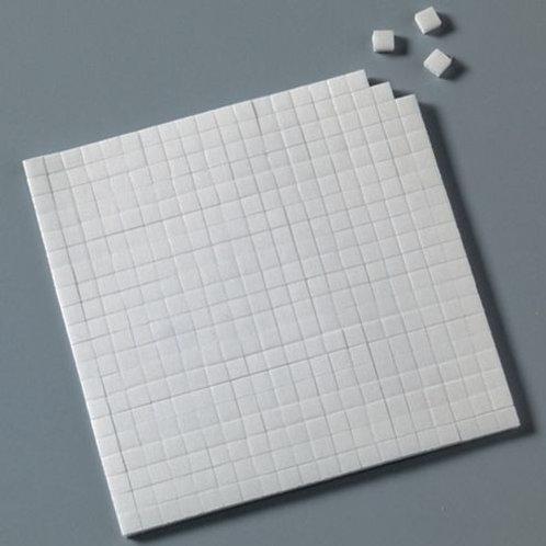 Klebekissen, doppelseitig, 10 x 14 cm, 560 Stk., weiss