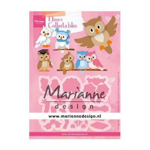 Marianne Design Collectables  Stanzschablone Eline's Eule