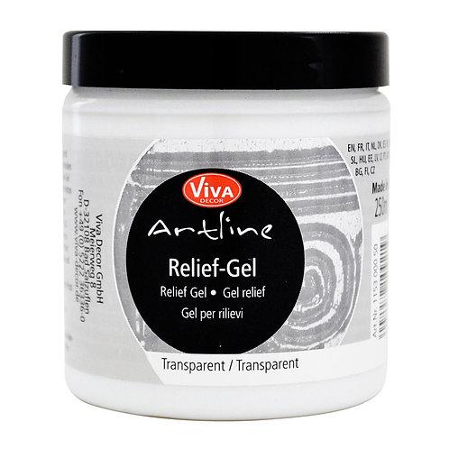 Artline Relief Gel 250 ml, Transparent